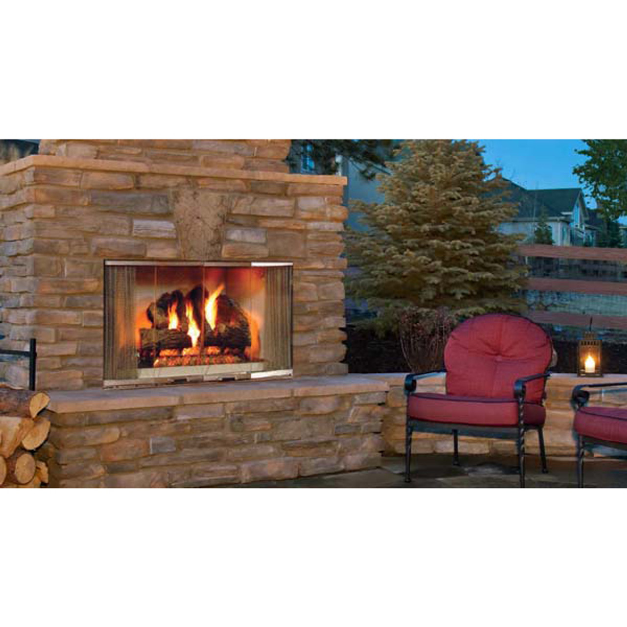 Montana radiant outdoor wood burning fireplace 42 inch majestic montana radiant outdoor wood burning fireplace 42 inch teraionfo