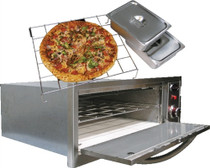 Cal Flame 2-in-1 Oven-warmer & Pizza Oven