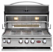 Cal Flame BBQ18874CP Built-In 4 Burner Convection Grill