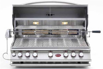 Cal Flame BBQ18875CP Built-In 5 Burner Gas Convection Grill | DIY BBQ