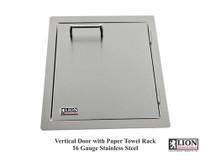 Lion Premium Grills Vertical Door with Towel Rack