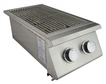 RCS Premier Series Double Side Burner, Slide-In - RJCSSB