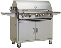 Bull BBQ Brahma 5-Burner 38'' Stainless Steel Grill with Cart