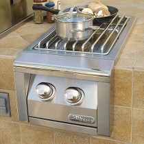 Alfresco Built-In Double Side Burner-AXESB-2