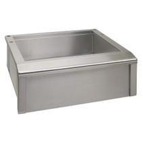 Alfresco 30 Inch Main Sink with Cutting Board-AGBC-30