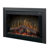 "Dimplex 45"" Deluxe Built-in Electric Firebox Electric Fireplace"