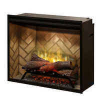 "Dimplex Revillusion™ 30"" Built-in Firebox Electric Fireplace"