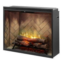 "Dimplex Revillusion™ 36"" Portrait Built-in Firebox Electric Fireplace"