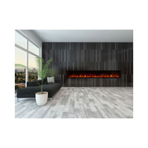 "Modern Flames  Landscape 100"" X 15"" Fullview Built In Electric Fireplace (Clean Face) LFV2-100/15-SH"