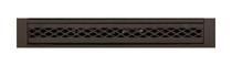 Majestic DC42FPB Designer Black Fireplace Firebox Filigree Panels