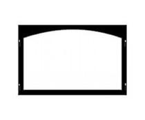 Majestic Black Texture 36 Inch Cabinet Door Frame - DMD36CDFBT