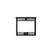 Monessen CFX24DFB Black Decorative Face