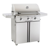 AOG 30-Inch L-Series 3-Burner Freestanding Gas Grill with Rotisserie-30CL
