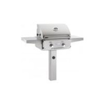 AOG 24-Inch L-Series 2-Burner Freestanding Gas Grill On In-Ground Post
