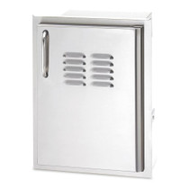 AOG 14-Inch Right Hinged Single Access Door with Tank Tray-20-14-SSDRV