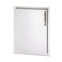 AOG 17-Inch Left Hinged Single Storage Door-24-17-SSDL