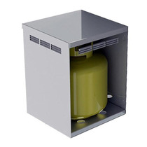 Alfresco Side Mount Lp Tank Housing For Agvpc Counter