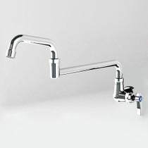 Alfresco Pot Filler Faucet With Double Joint Spout