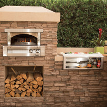 Alfresco 30 Inch Pizza Oven Built In-AXE-PZA-BI