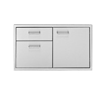 Delta Heat 36 Inch Door 3-Drawer Combo