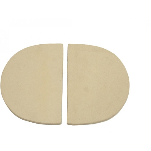 Primo Ceramic Heat Deflector Plates For Oval XL And Kamado