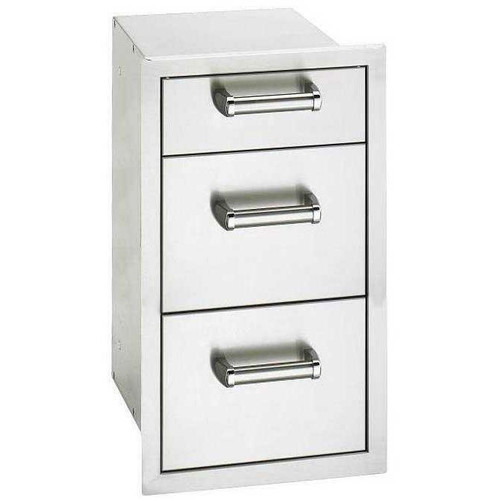 Fire Magic Flush Mount Triple Storage Drawers
