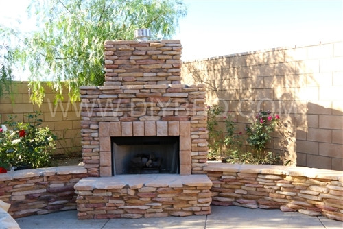 BBQ Outdoor Fireplace Frame kit