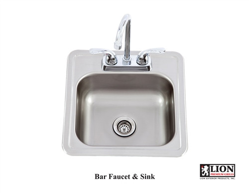 Lion Bar Sink
