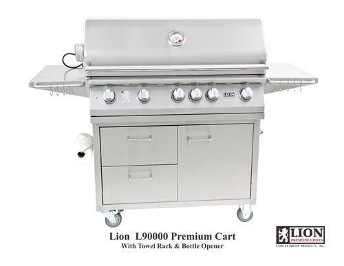 Lion 5 burner grill