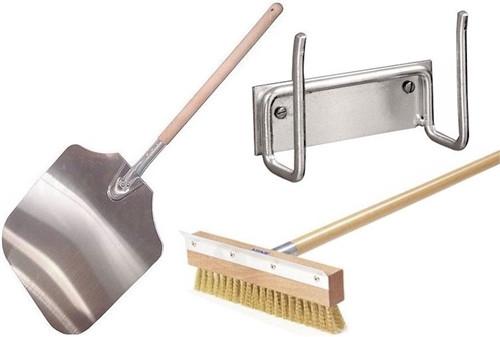 Peel 4 Pack - Aluminum Peel, Brush / Handle Combo & Peel Holder
