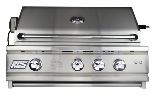 "RCS 30"" (Inch) Cutlass Pro Series Grill, Blue LED with Rear Burner - RON30a"