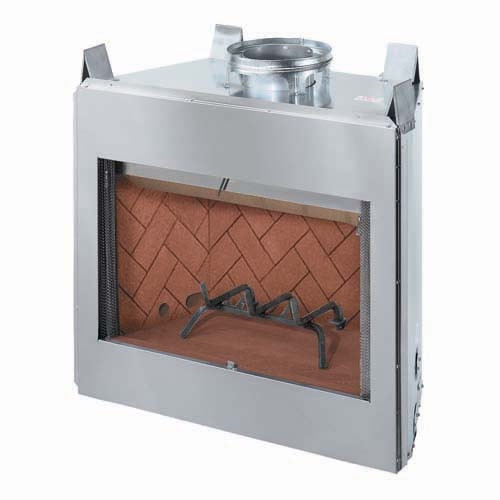 "Outdoor Stainless Steel 36"" fireplace insert"