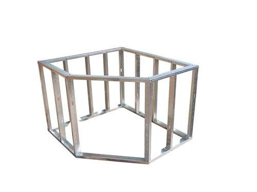 DIY BBQ Diagonal Egg Corner Modular Section