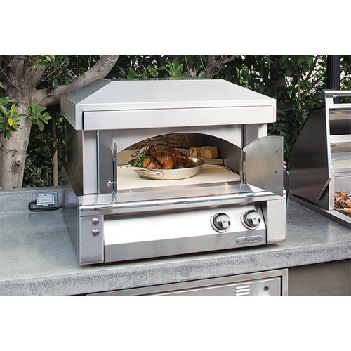 """Alfresco 30"""" Pizza Oven for Countertop Mounting"""