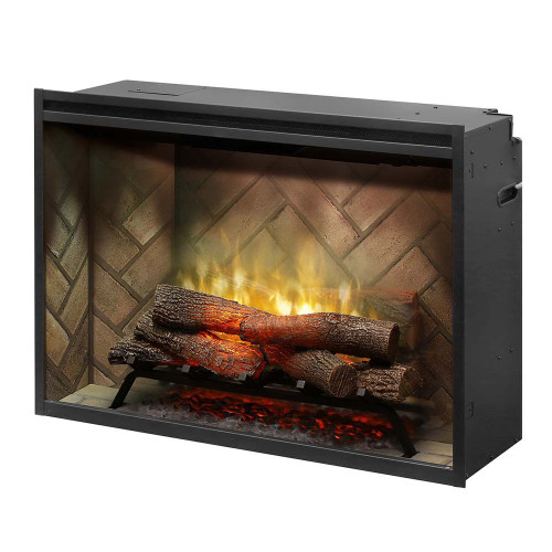 "Dimplex Revillusion™ 36"" Built-in Firebox Electric Fireplace"