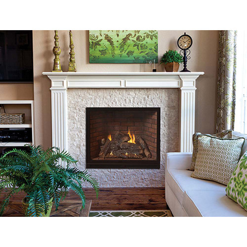 Empire Tahoe Clean-Face Luxury Traditional Direct-Vent Fireplaces