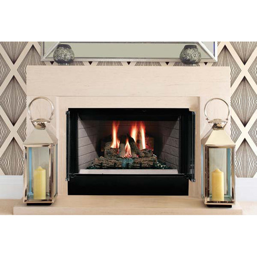 Majestic Sovereign Heat Circulating Wood Burning Fireplace - 36 Inch