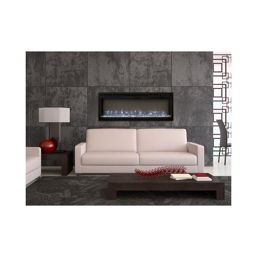 Modern Flames  Spectrum 74 Inch Linear Electric Fireplace SL74-B