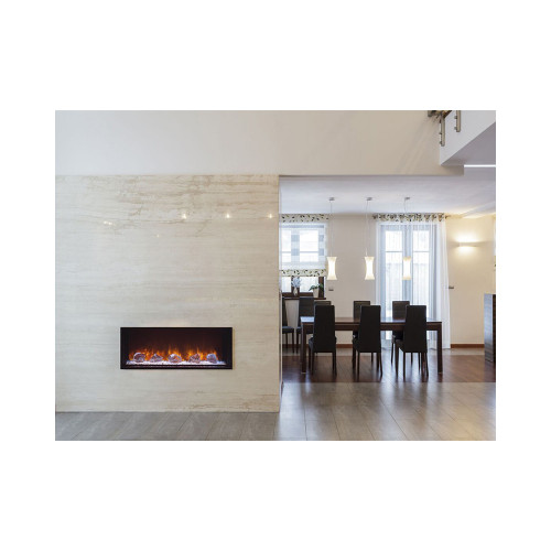 "Modern Flames  Landscape 40"" X 15"" Fullview Built In Electric Fireplace (Clean Face) LFV2-40/15-SH"