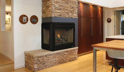 Superior DRT40CRDEN Open Direct Vent Gas Fireplace