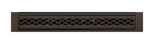 Majestic DC42FPB Designer Black Fireplace Firebox Filigree Panels
