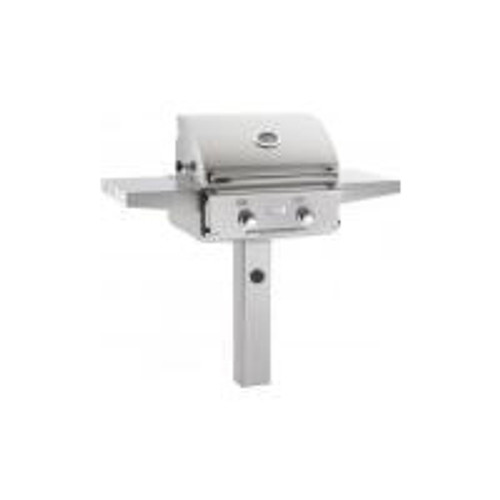 AOG 24-Inch L-Series 2-Burner Freestanding Gas Grill On In-Ground Post-24GL