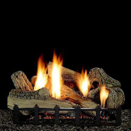 Empire Vent Free Canyon Gas Log Set With Electronic Variable Remote