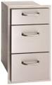 Fire Magic Select Triple Storage Drawers