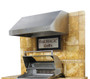 "Fire Magic 42"" Stainless Steel Vent Hood"