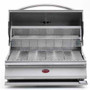 Cal Flame BBQ09G870 G-Series Built-In Charcoal Grill
