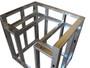 "DIY BBQ Quick Panel 36"" Drop-Down Burner Module Frame Section"