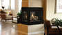Superior DRT40PF 40 Inch Peninsula Direct Vent Gas Fireplace