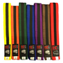 "Belts Coloured/Single Black Stripe ""10 PACK BUNDLE"" (TTCBBS10)"