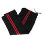 Contact Pants  Black 2 Red Stripes - Children 100cm to 150cm (KSCPB2C)